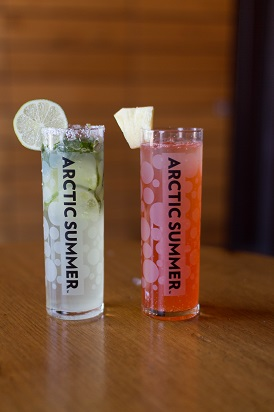 Arctic Summer Spiked Seltzer Drink recipes BSSC Ski Trips